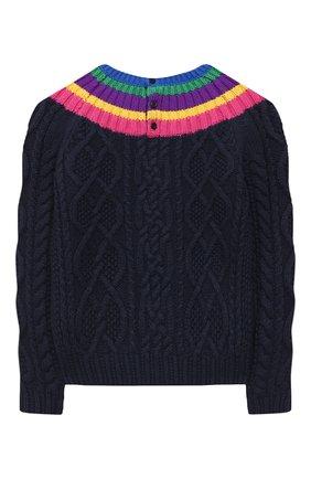 Пуловер из хлопка и шерсти   Фото №2