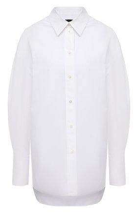 Женская хлопковая рубашка JOSEPH белого цвета, арт. JP001018   Фото 1