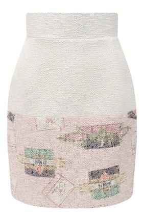 Женская юбка ULYANA SERGEENKO бежевого цвета, арт. GNC001FW20P 1187т20 | Фото 1