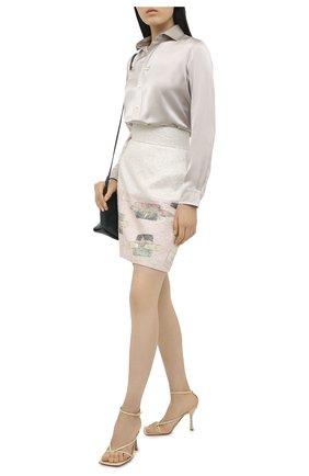 Женская юбка ULYANA SERGEENKO бежевого цвета, арт. GNC001FW20P 1187т20 | Фото 2