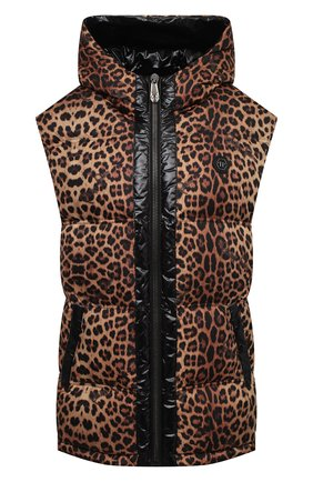 Женский жилет PHILIPP PLEIN леопардового цвета, арт. A20C WRC0069 PNY002N | Фото 1