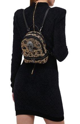 Женский рюкзак PHILIPP PLEIN коричневого цвета, арт. A20A WBA1276 PCO081N | Фото 2