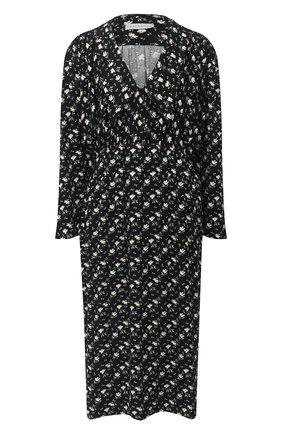 Женское платье из вискозы PEFORGIRLS черного цвета, арт. PE.100.2022.09.15106.171 | Фото 1