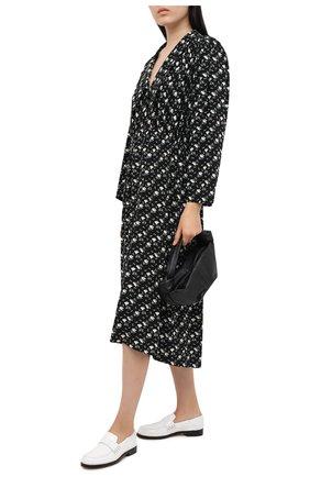 Женское платье из вискозы PEFORGIRLS черного цвета, арт. PE.100.2022.09.15106.171 | Фото 2