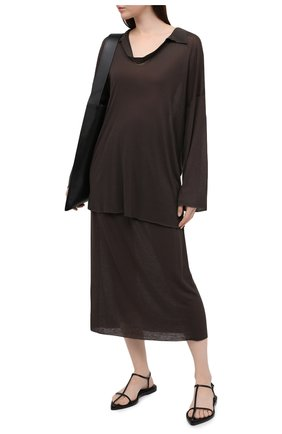 Женский костюм PEFORGIRLS коричневого цвета, арт. PE.100.2022.10.51004.095 | Фото 1