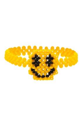 Женский браслет смайл HIAYNDERFYT разноцветного цвета, арт. 1402.5 | Фото 1 (Материал: Пластик)
