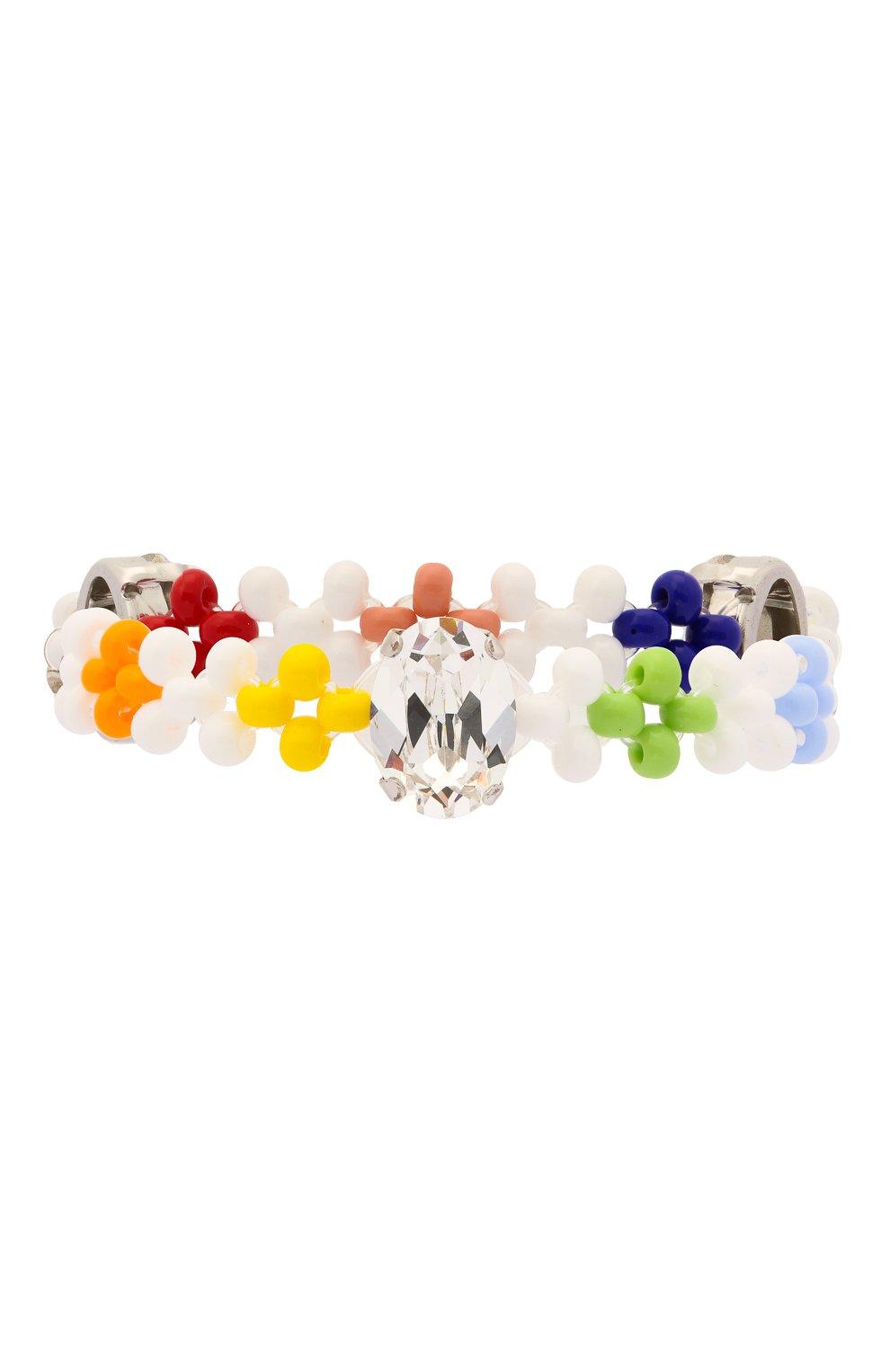 Женский браслет шайни HIAYNDERFYT разноцветного цвета, арт. 1402.4   Фото 1 (Материал: Пластик)