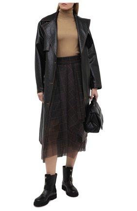 Женские кожаные ботинки TOD'S черного цвета, арт. XXW95B0DY80G0C | Фото 2
