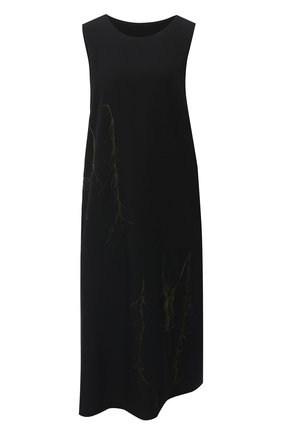 Женское шерстяное платье Y`S хаки цвета, арт. YR-D07-100   Фото 1