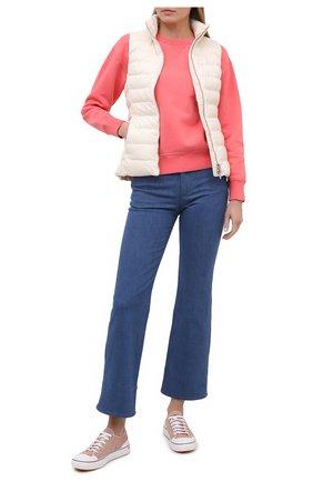 Женская хлопковый свитшот POLO RALPH LAUREN красного цвета, арт. 211794395 | Фото 2