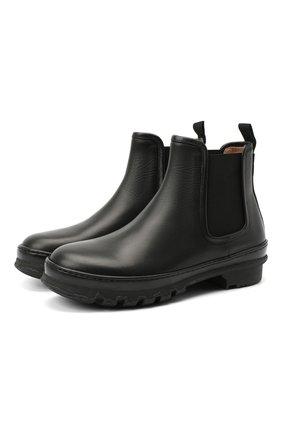 Женские кожаные ботинки LE GRES черного цвета, арт. D139NA | Фото 1