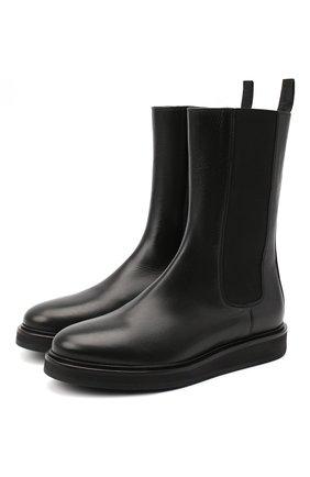Женские кожаные ботинки LE GRES черного цвета, арт. D152NA | Фото 1