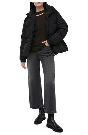 Женские кожаные ботинки LE GRES черного цвета, арт. D152NA | Фото 2