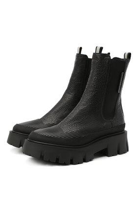 Женские кожаные ботинки PREMIATA черного цвета, арт. M5930/GENIUS | Фото 1