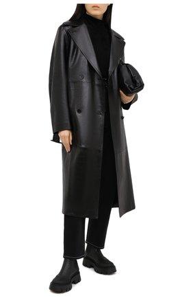 Женские кожаные ботинки PREMIATA черного цвета, арт. M5930/GENIUS | Фото 2