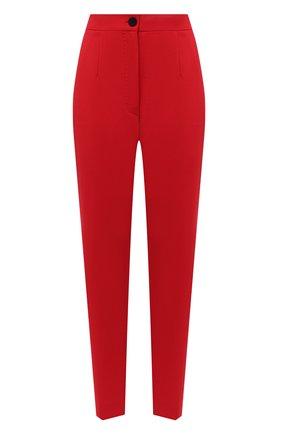 Женские шерстяные брюки DOLCE & GABBANA красного цвета, арт. JD05AT/FUBEI | Фото 1