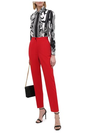 Женские шерстяные брюки DOLCE & GABBANA красного цвета, арт. JD05AT/FUBEI | Фото 2