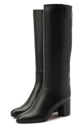 Женские кожаные сапоги SANTONI черного цвета, арт. WSXG59039HI1Q0TDN01 | Фото 1