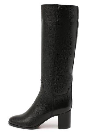 Женские кожаные сапоги SANTONI черного цвета, арт. WSXG59039HI1Q0TDN01 | Фото 3