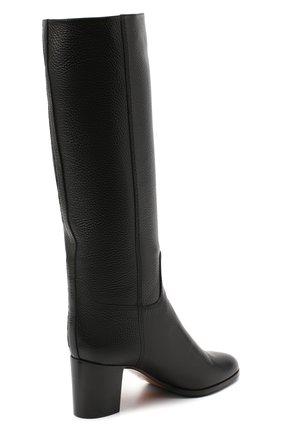 Женские кожаные сапоги SANTONI черного цвета, арт. WSXG59039HI1Q0TDN01 | Фото 4
