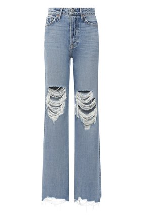 Женские джинсы GRLFRND синего цвета, арт. GF40458771389 | Фото 1