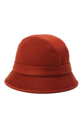 Женский кашемировая шляпа LORO PIANA бордового цвета, арт. FAL2348 | Фото 2
