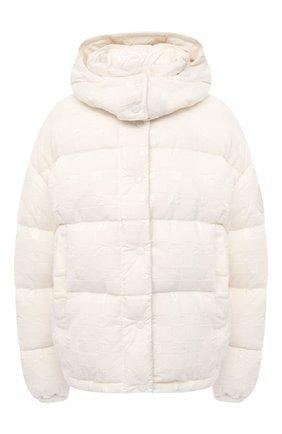 Женский пуховая куртка MONCLER белого цвета, арт. F2-093-1A571-00-53A0C | Фото 1