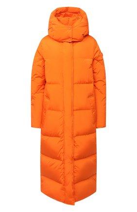 Женский пуховик WOOLRICH оранжевого цвета, арт. CFWW0U0312FR/UT1148 | Фото 1
