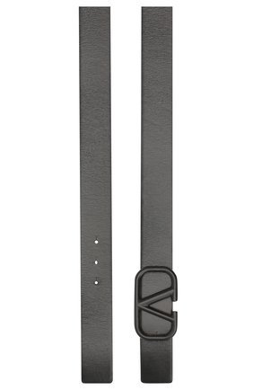 Женский кожаный ремень valentino garavani VALENTINO черного цвета, арт. TW2T0S11/YEE   Фото 2