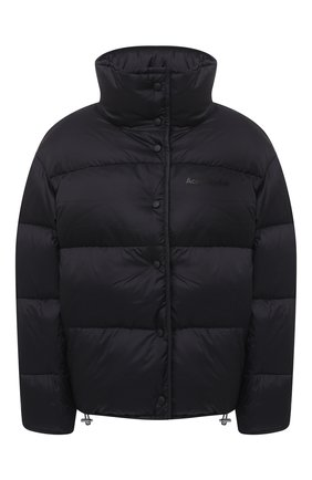 Женский пуховая куртка ACNE STUDIOS черного цвета, арт. A90298 | Фото 1
