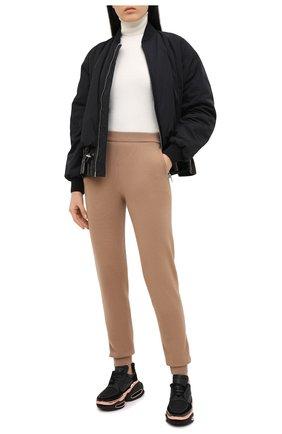 Женские кожаные кроссовки b bold BALMAIN черного цвета, арт. UN0C541/LSCE   Фото 2