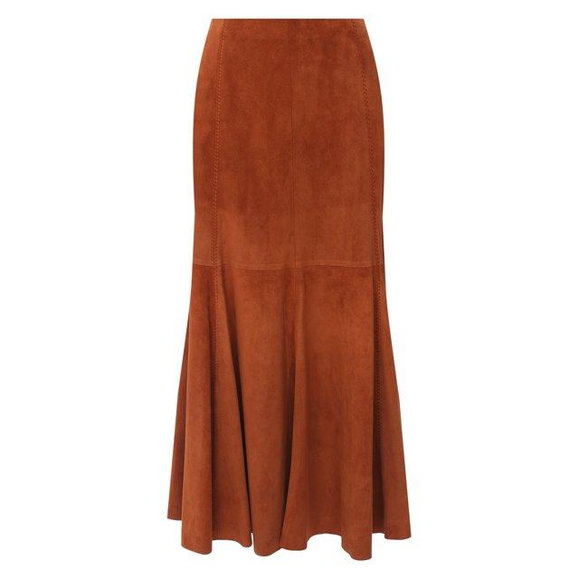 Замшевая юбка Gabriela Hearst