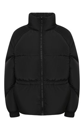Женский пуховая куртка GANNI черного цвета, арт. F5401 | Фото 1