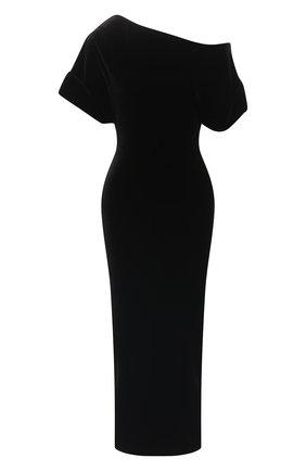 Женское платье CHRISTOPHER KANE черного цвета, арт. CFW DR2582 491000 STRETCH VELVET | Фото 1