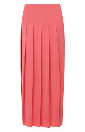 Женская шерстяная юбка JOSEPH розового цвета, арт. JP000987 | Фото 1
