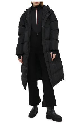 Женские комбинированные ботинки LORO PIANA черного цвета, арт. FAL4227 | Фото 2