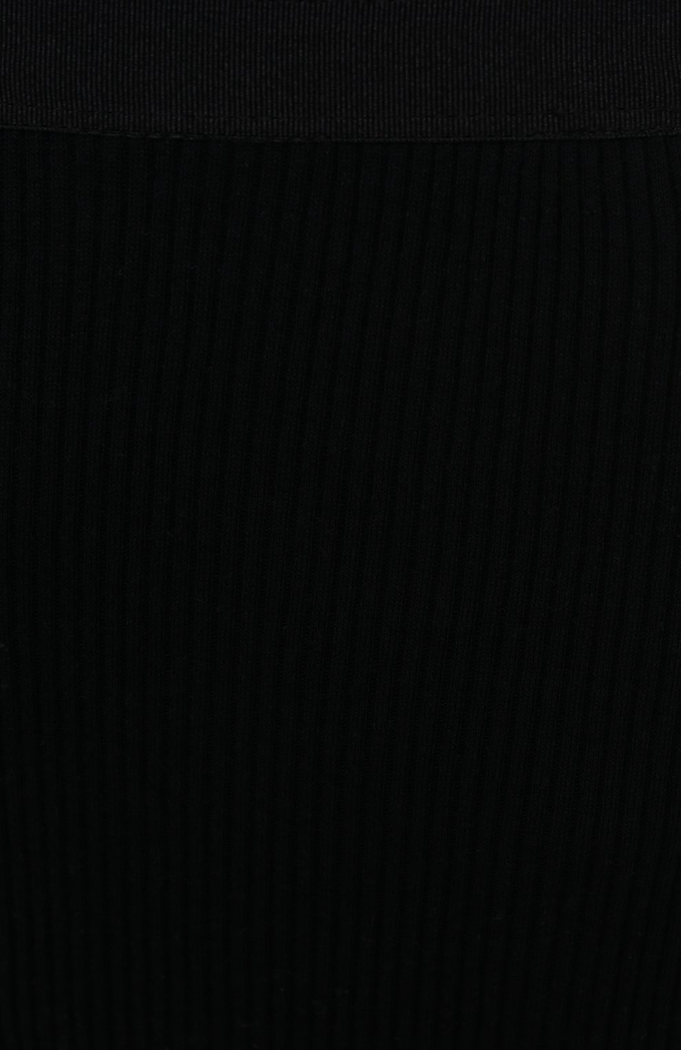Женская шерстяная юбка THE ROW черного цвета, арт. 5308K323 | Фото 5