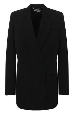 Женский шерстяной жакет STELLA MCCARTNEY черного цвета, арт. 601982/SPA28 | Фото 1