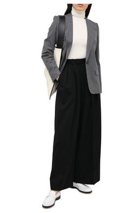 Женский шерстяной жакет STELLA MCCARTNEY серого цвета, арт. 602107/SNB53   Фото 2