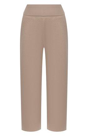 Женские шерстяные брюки STELLA MCCARTNEY бежевого цвета, арт. 602204/S2221 | Фото 1