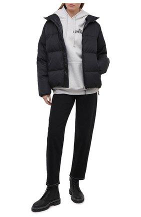 Женский пуховая куртка TANAKA черного цвета, арт. ST-42 | Фото 2