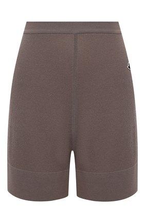 Женские шорты rick owens + moncler RICK OWENS серого цвета, арт. MU20F0019/A9454 | Фото 1