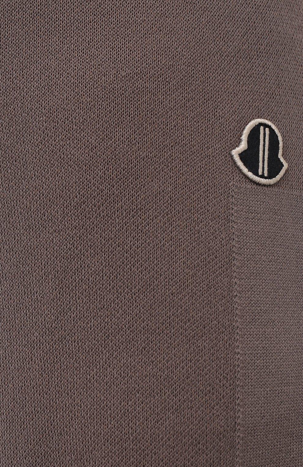 Женские шорты rick owens + moncler RICK OWENS серого цвета, арт. MU20F0019/A9454 | Фото 5 (Женское Кросс-КТ: Шорты-одежда; Материал внешний: Шерсть, Кашемир, Хлопок; Длина Ж (юбки, платья, шорты): Мини)