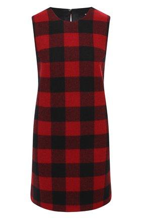 Женское шерстяное платье DSQUARED2 красного цвета, арт. S72CV0136/S44496 | Фото 1