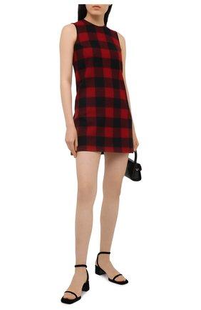 Женское шерстяное платье DSQUARED2 красного цвета, арт. S72CV0136/S44496 | Фото 2