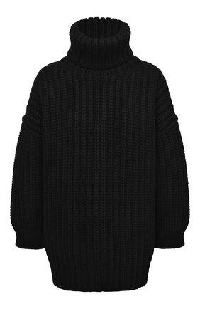 Женская свитер из шерсти и кашемира DOLCE & GABBANA черного цвета, арт. FXA37T/JBMD9 | Фото 1