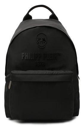 Мужской рюкзак PHILIPP PLEIN черного цвета, арт. A20A MBA0998 PLE111N | Фото 1
