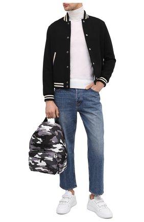 Мужской рюкзак PHILIPP PLEIN серого цвета, арт. A20A MBA1000 PLE111N | Фото 2