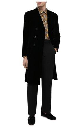 Мужская хлопковая рубашка BILLIONAIRE коричневого цвета, арт. O20C MRP1392 BTE002N | Фото 2