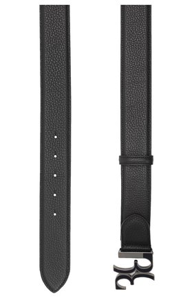 Мужской кожаный ремень BILLIONAIRE черного цвета, арт. O20A MVA0605 BLE078N | Фото 2